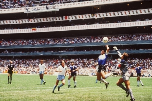 Diego Maradona Hand of God