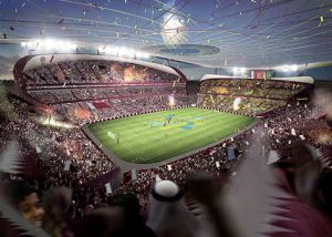 Artist's Impression of Lusail Iconic Stadium credit@wikimedia