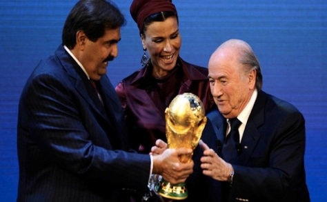 Qatar awarded 2022 World Cup credit@CreativeCommons