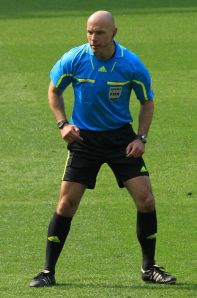 Referee Howard Webb who officiated the 2010 World Cup Final credit@wikipedia