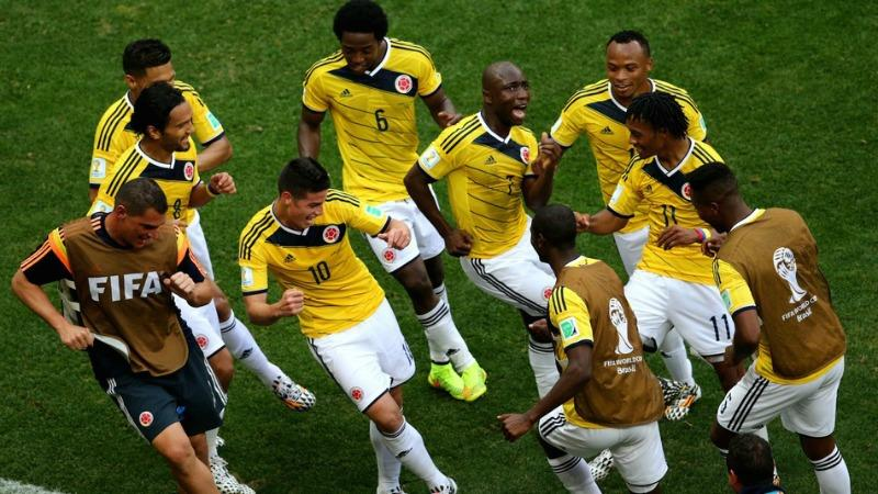 Colombia, Brazil, World Cup 2014, Brasil, Football, Soccer