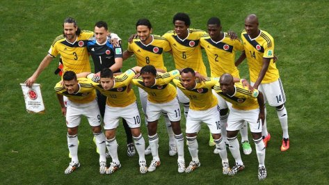 The Colombian national team have captured the imagination of fans the world over. credit@Facebook