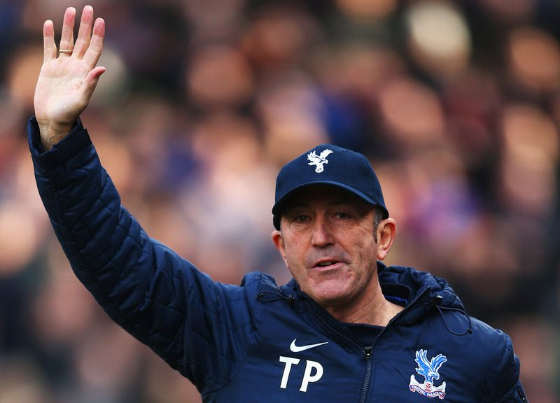 Tony Pulis Barclays Premier League Sack Race