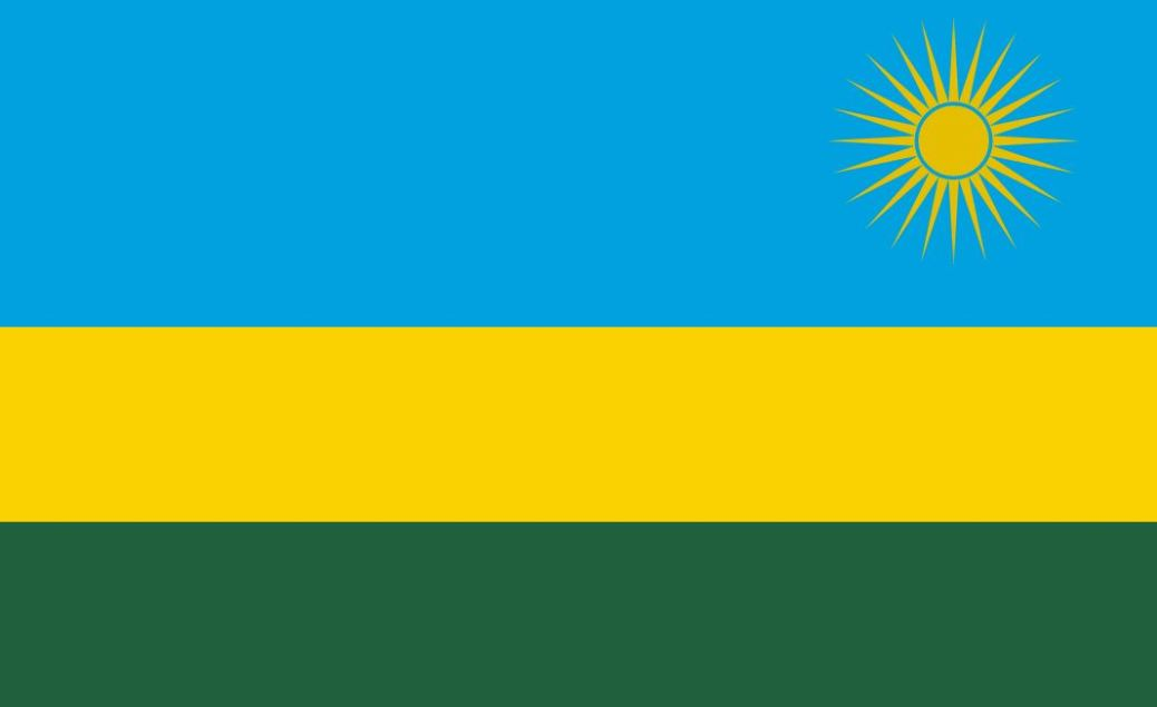 Rwanda flag, African Cup of Nations, AFCON
