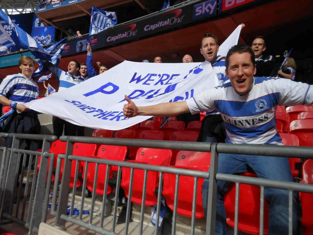 Kieran Robinson, Wembley Stadium, QPR, Play-Off Final