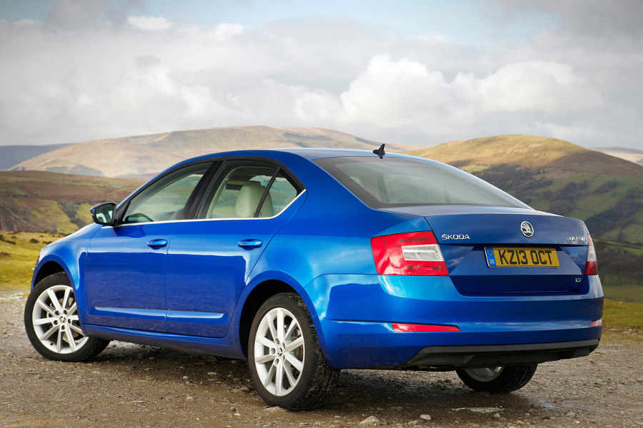 Skoda Octavia in Race Blue