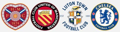 Heart of Midlothian, FC United of Manchester, Luton Town and Chelsea have signed up to pay the Living Wage.