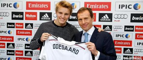 Norwegian wonder-kid Martin Odegaard joins Real Madrid.