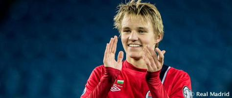 Norway's Martin Ødegaard breaks the record for youngest ever player in a European Championships qualifier.