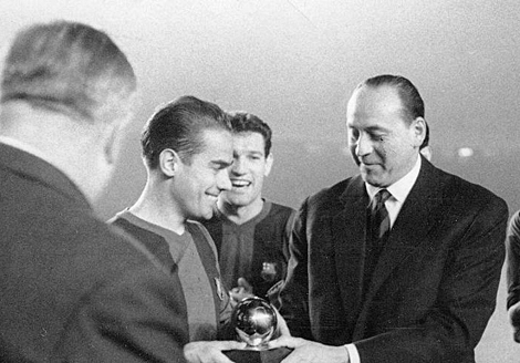 Luis Suárez Miramontes remains the only Spanish born player to have received the Ballon D'or award.