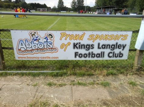 Kings Langley Football Club, Gaywood Park, Hertfordshire