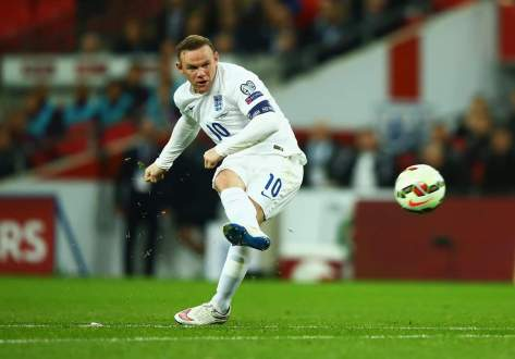 Wayne Rooney, England's all-time leading goalscorer.