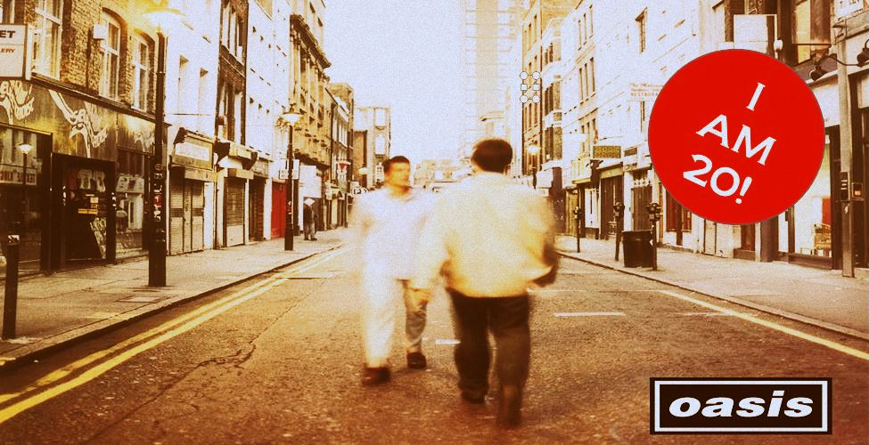Oasis, What's the Story Morning Glory, 20 years old, Time's No Chain