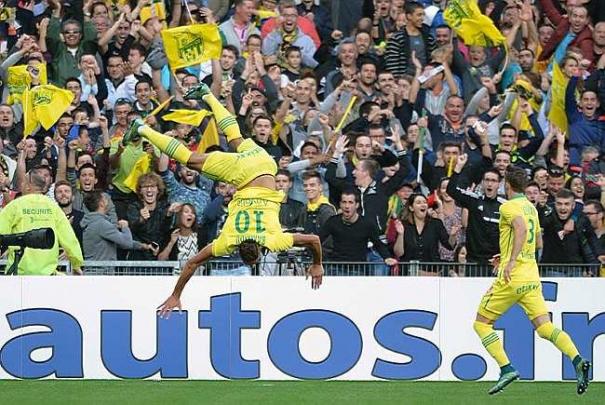 Yacine Bammou, FC Nantes, PSG, Ligue 1, But. Club Shop