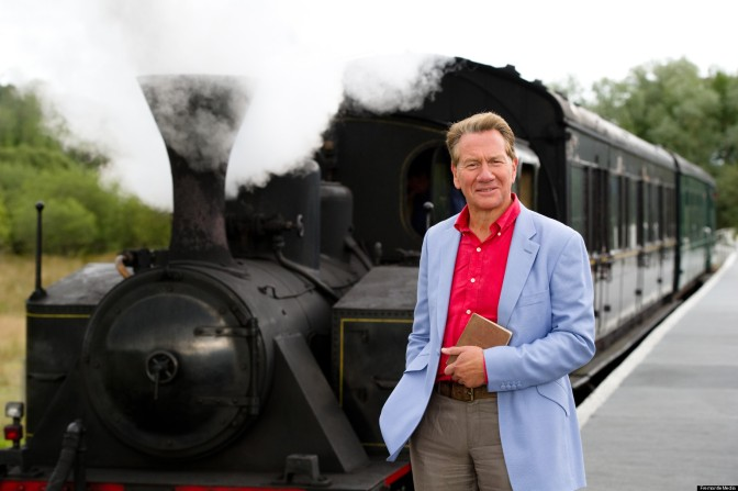 Michael Portillo, Great British Railway Journeys, Steam Trains, Jackets, Bradshaws Guide 1863