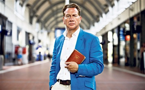 Michael Portillo, Great British Railway Journeys, Trainspotter, Bradshaws Guide, Jacket