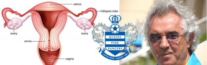 Fallopian Tubes, Flavio's hair, QPR Badge