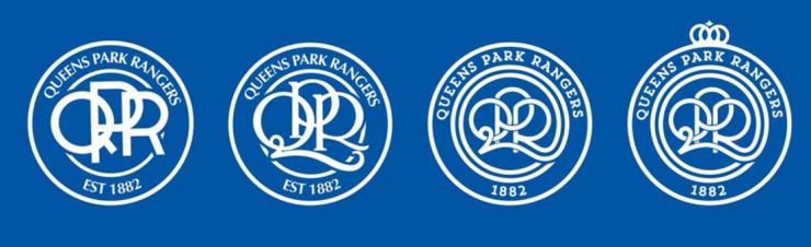 QPR badge 2016, four choices