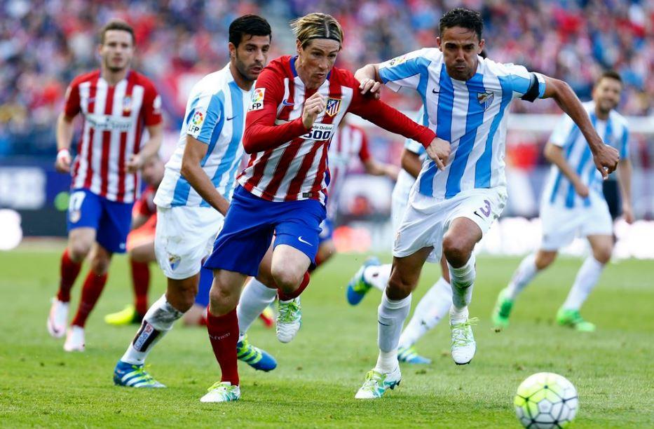 Atletico Madrid, Malaga, Fernando Torres