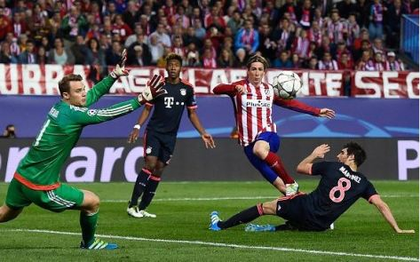 Fernando Torres, Atletico de Madrid, Atleti, Bayern Munich, Manuel Neuer, Champions League