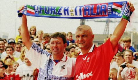 Ravanelli Boro Middlesborough Italian Premier League