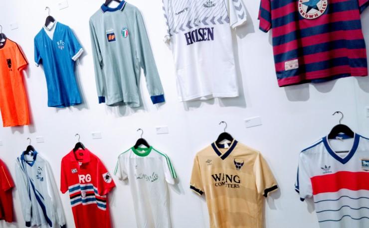 Art, design, football, Tottenham, Oxford United, Ipswich, Saudi Arabia, Everton, Newcastle United, Sampdoria