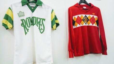 Tampa Bay Rowdies, Belgium, Rodney Marsh, soccer shirt, Admiral, Adidas, classics, design, art