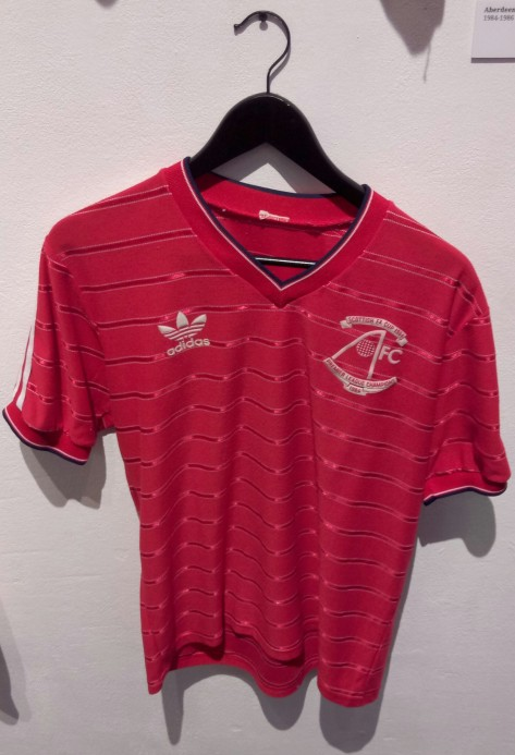 Aberdeen, adidas, 1984, double, shirt, design, culture, classic