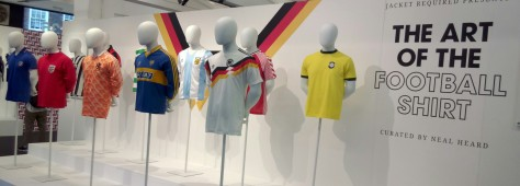 Football, art, design, culture, kit, England 1966, West Germany 1990, Brazil, Milan, Celtic, Argentina, classic