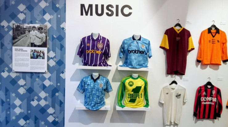 New Order, Oasis, England, Bob Marley, Manchester City, football kit, design, music, world in motion
