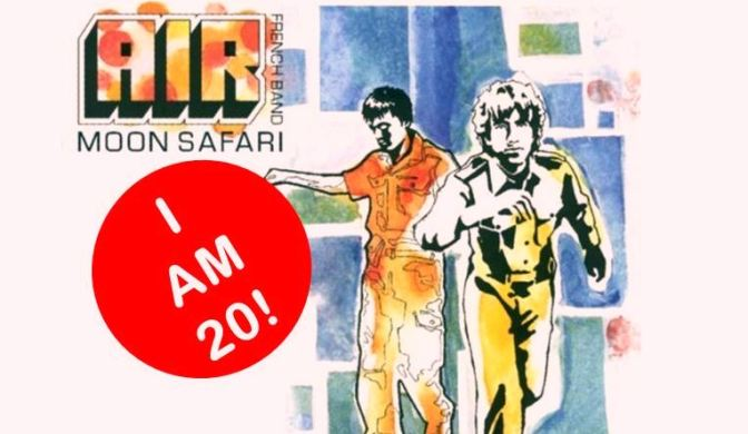 Moon Safari is 20, Air, French Band, Electronica, Classic Album