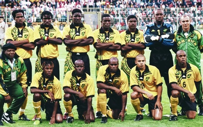 Jamaica, World Cup, France 1998, Kappa, Robbie Earle,