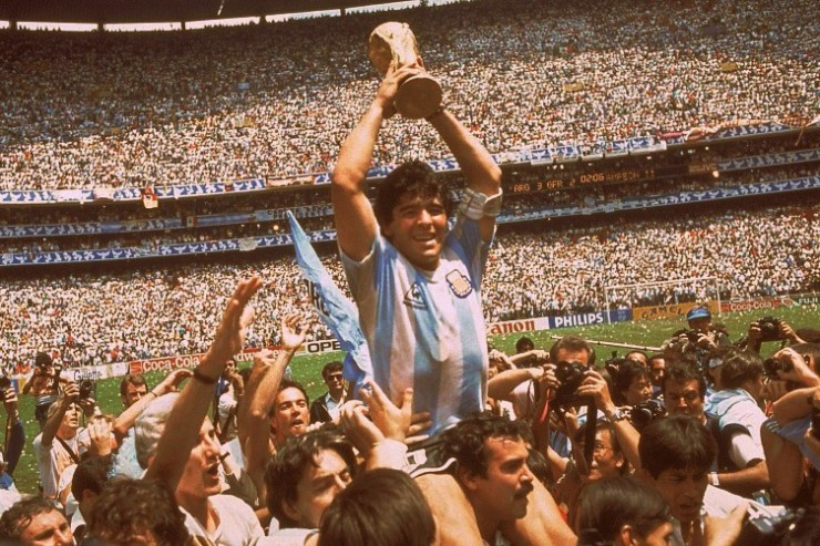 Maradona, 1986, World Cup, Argentina, Football, Kits, Soccer