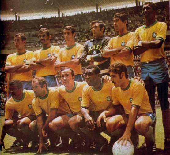Brazil, 1970, World Cup, Pele, Football, Kits, Soccer