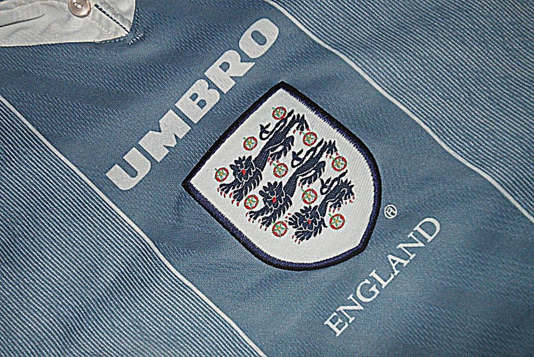 England, Grey, 1996, Euro 96, Kit, Umbro, Gareth Southgate