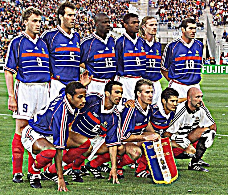 France, 1998, World Cup, Zidane, Football, Kits, Soccer,