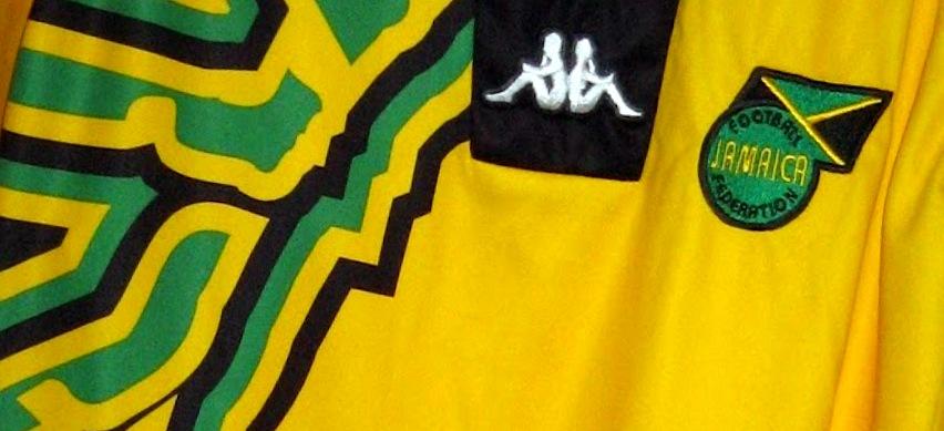 Jamaica 1998, World Cup, Reggae Boyz, Kappa, France 98, Kits