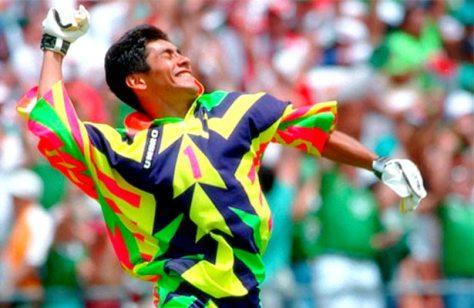 Jorge Campos, Mexico, Goalkeeper, Kit, USA 94