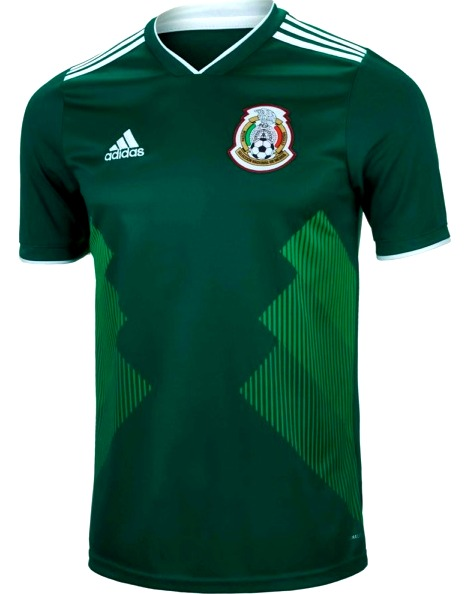 Adidas, Mexico, Russia 2018