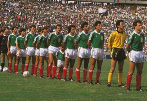 Mexico, 1986, Team