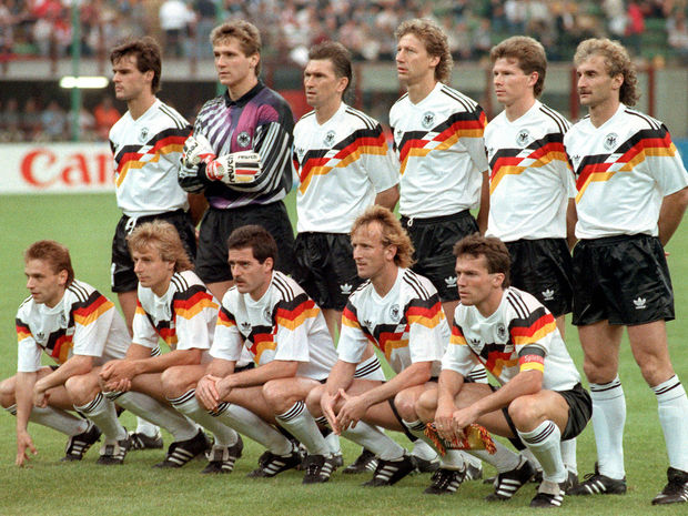 West Germany, 1990, World Cup, Italia 90, Football, Kits, Soccer,