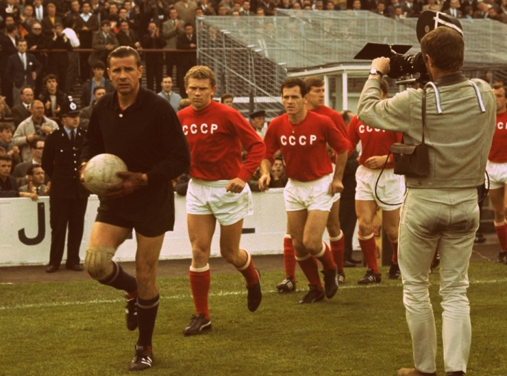 CCCP, 1966, Lev Yashin, World Cup, Football, Kits, Soccer, Black, USSR