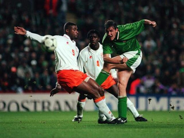 Ireland, Holland, Euro 96 play-off, Anfield, 1995