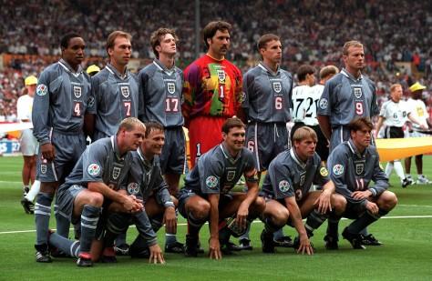 England, grey, Euro 96, classic kits