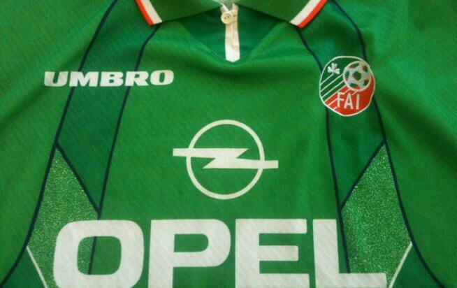 Republic of Ireland, Umbro, Opel, 1996, Father Dougal